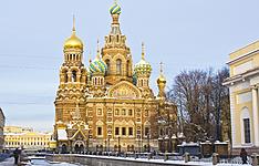 Saint-Pétersbourg et Novgorod en hiver