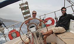 sylvie, voyage en Grèce