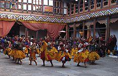 Festival du Bhoutan