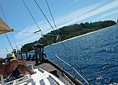 Inoubliable croisière dans l\'archipel de Nosy Be : Nosy Tanikely, Iranja...