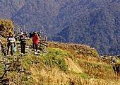 Jour 12 - Ghandruk - Birethanti (1050 m) - Pokhara (900 m)
